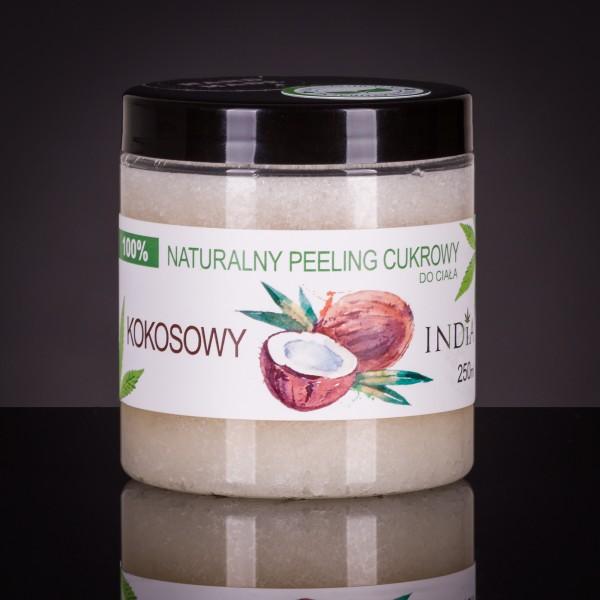 Φυσικό Peeling Ζάχαρις - Καρύδας 50 ml