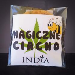 Μαγικό μπισκοτάκι κάνναβης Με φρέσκο μέλι (Mini)